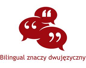 bilingualznaczydwujezyczny logo