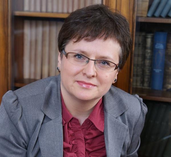 Dr Katarzyna Kłosińska z Rady Języka Polskiego. Fot.  Sylwia Rudolf.