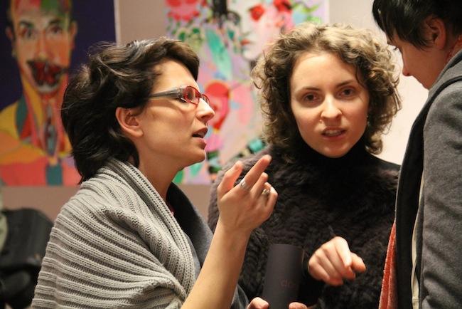 Aga Pietrzykowska i Laura Wasilewska