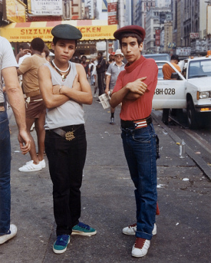 """Jamel Shabazz from """"Back In The Days,"""" 1989"""