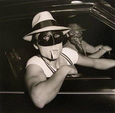 Peter Hujar, Boys in Car, Halloween, 1978