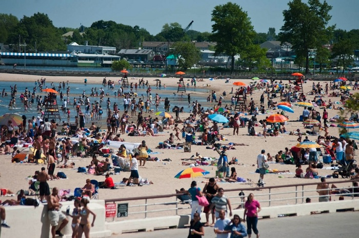 Orchard Beach, Bronx, New York