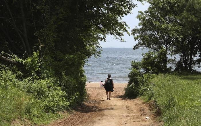 Wolfe's Pond Park Beach, Staten Island