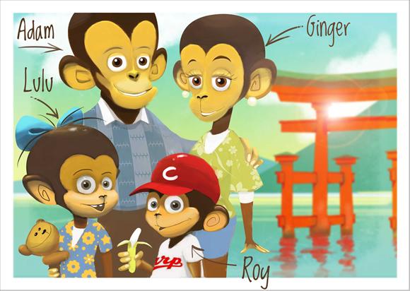 Fot. Billingual Monkeys