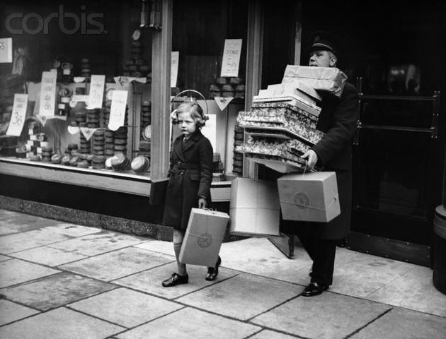 Świąteczne zakupy, 1939 r.