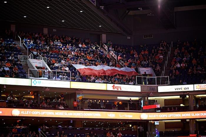 Polish Heritage Night with the Phoenix Suns 2013 (sala sportowa)