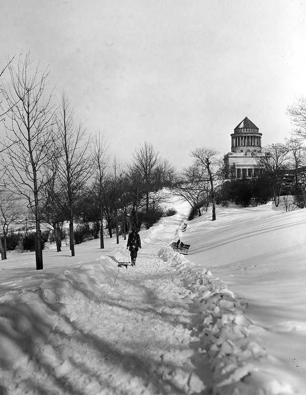 Riverside Park w 1905 r. Fot. PhotoQuest / Getty Images