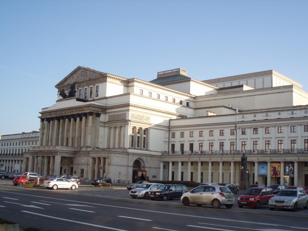 Teatr Wielki i Teatr Narodowy w Warszawie.