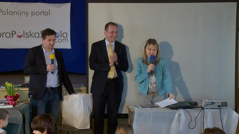 Tomek Moczerniuk, Sławomir Platta i Marta Kustek