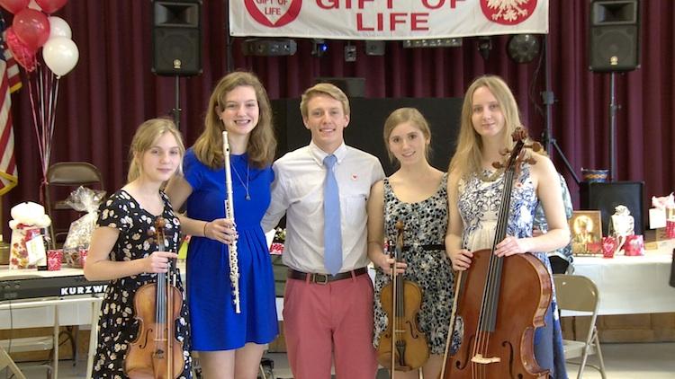 Podczas występu na majówce Fundacji Polish Gift of Life