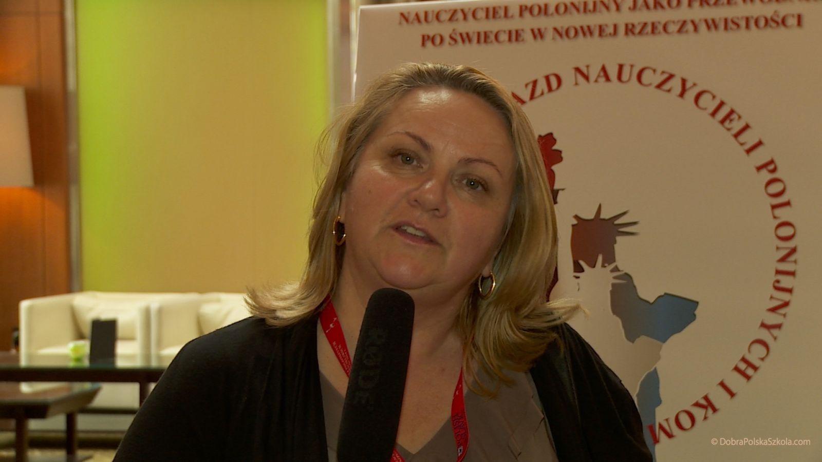 Barbara Gospodarczuk z Polskiej Szkoły w Copiague