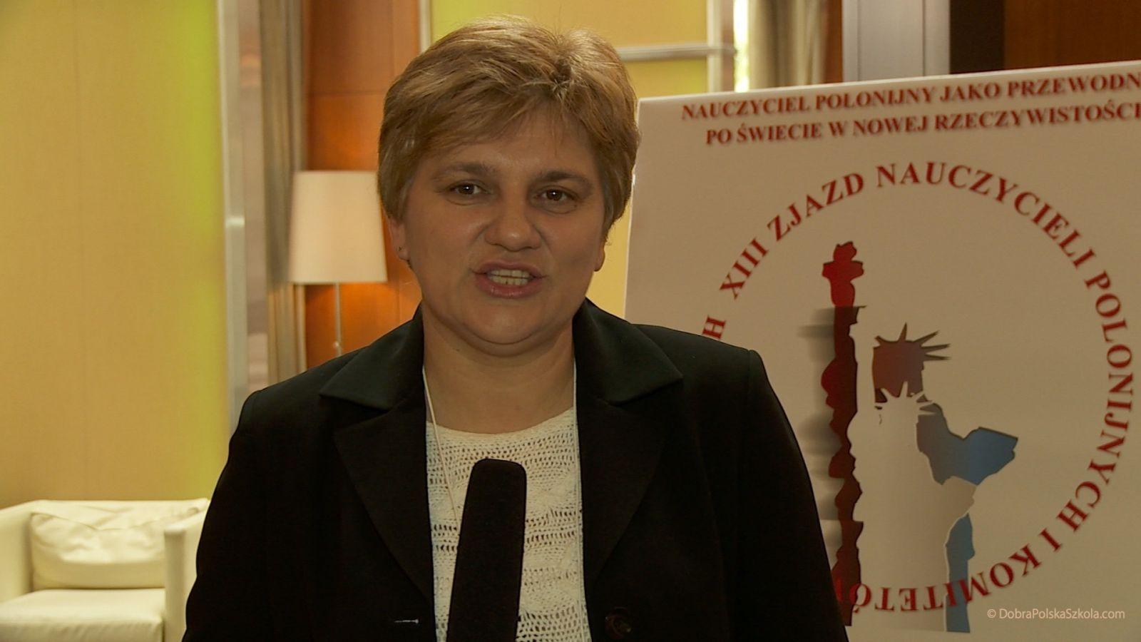 Katarzyna Pawka z Polskiej Szkoły im. Aleksandra Janty – Połczyńskiego w Lakewood, NJ