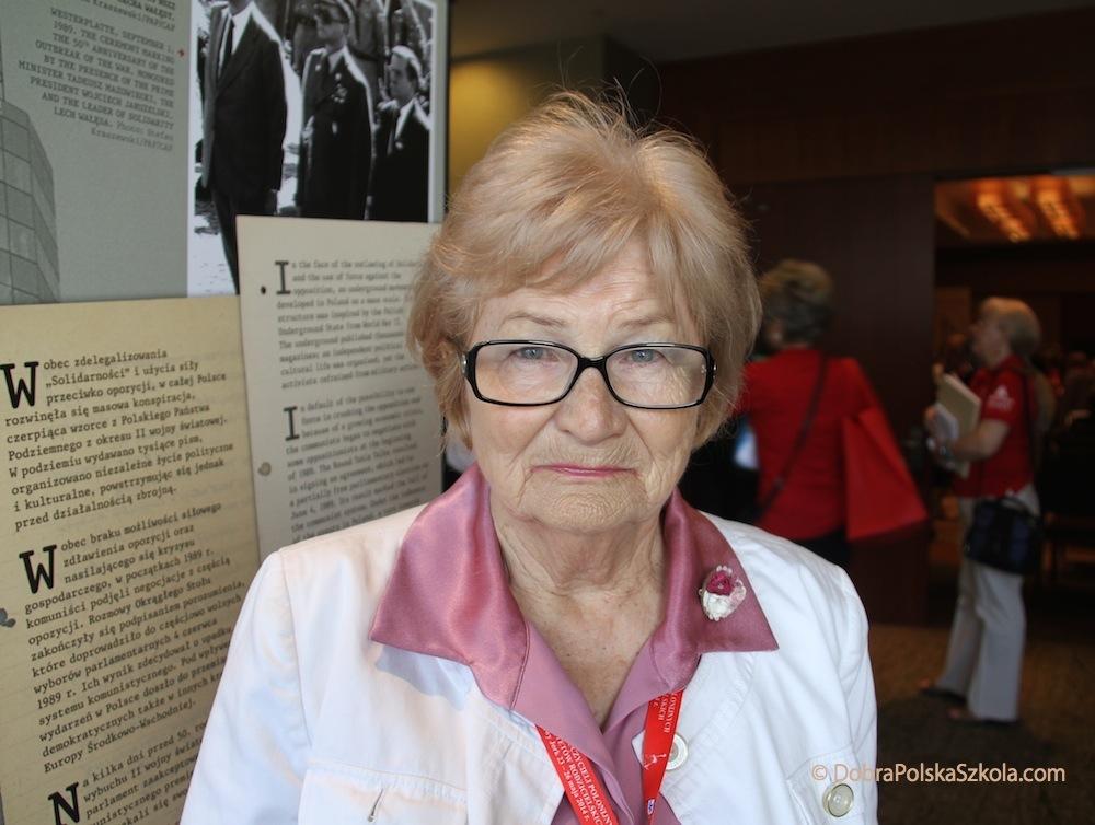 Elżbieta Rudzińska, prezes Forum Polonijnych Nauczycieli na Zachodnim Wybrzeżu
