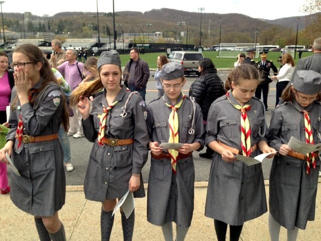 Polskie harcerki z Brooklynu