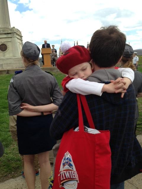 Nie zabrakło młodych patriotów
