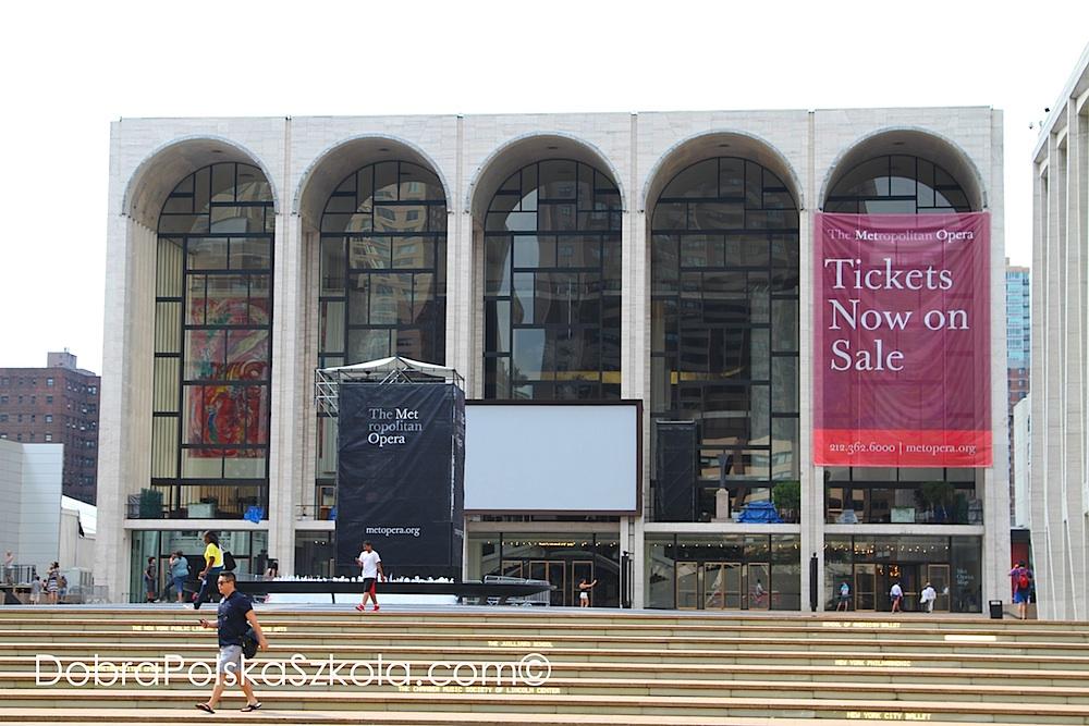 Budynek Metropolitan Opera