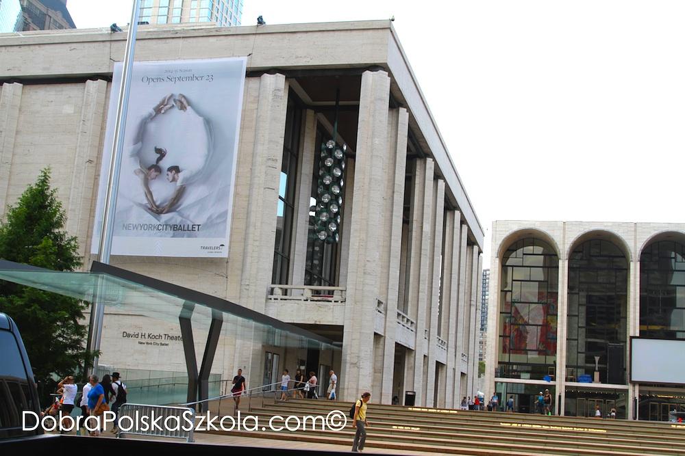 Budynek New York City Ballet
