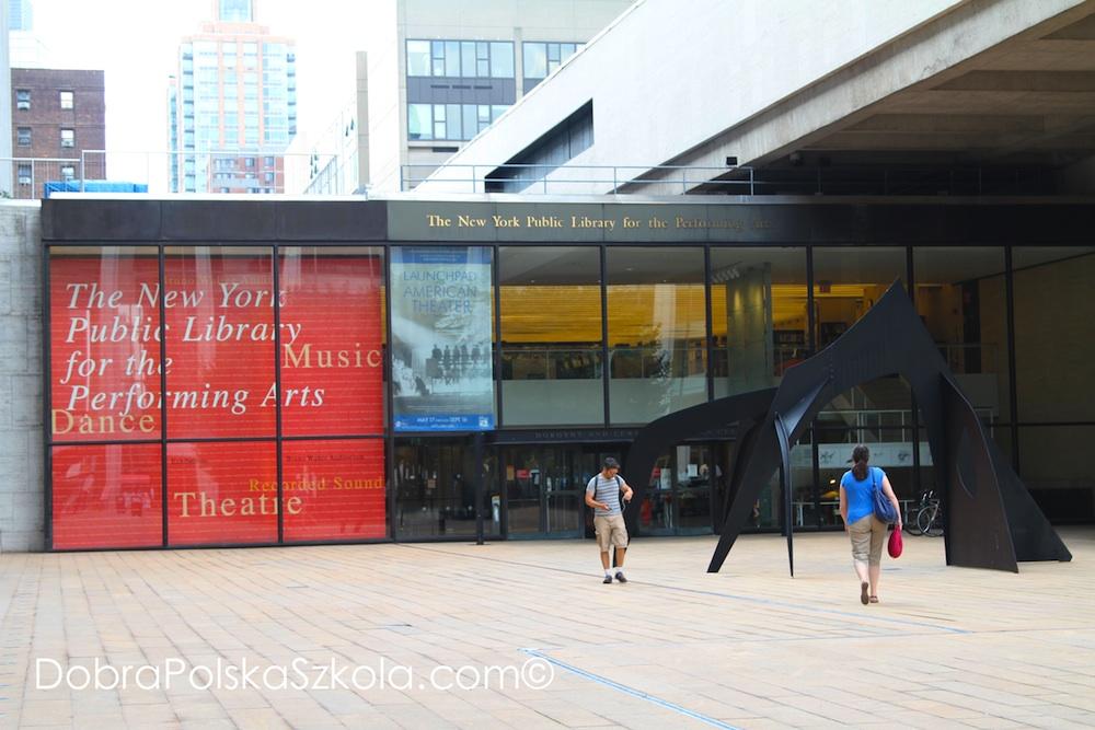Biblioteka Lincoln Center