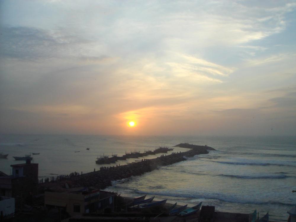 Wschód słońca... (i na to czekaliśmy od czwartej rano)