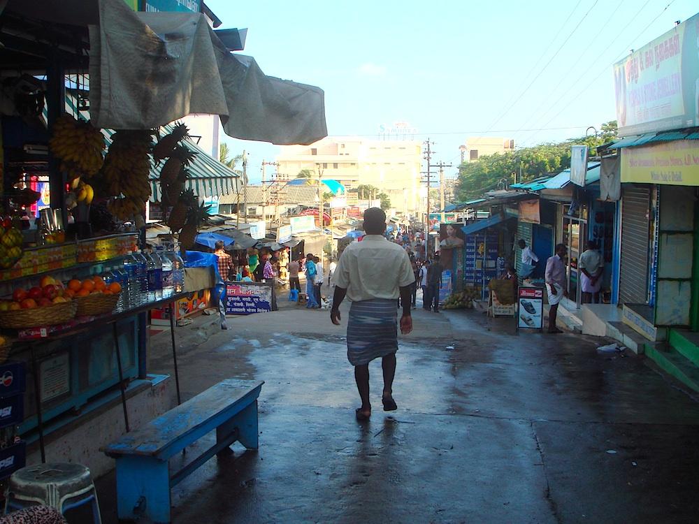 Bazar na Kanyakumari