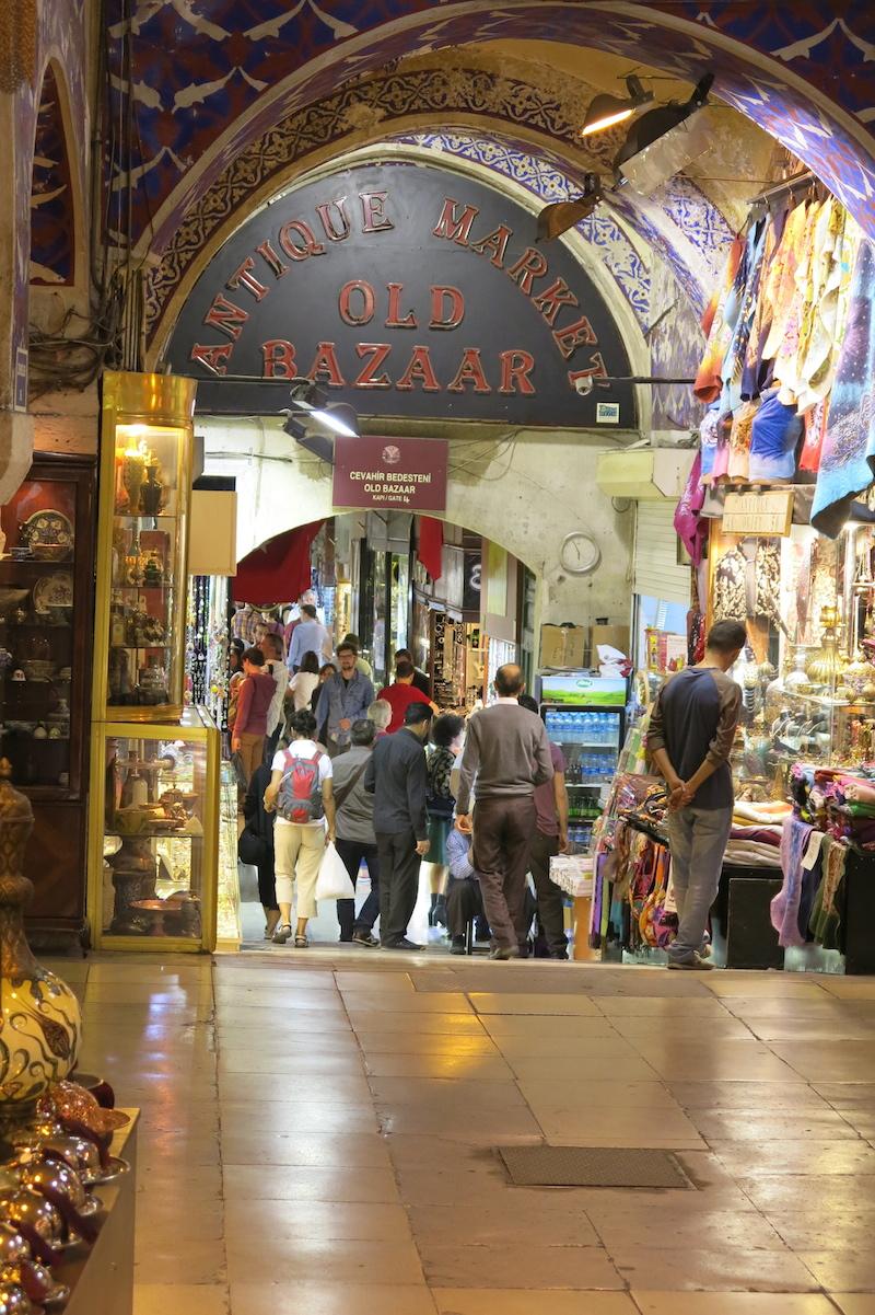 Wielki Bazar w Stambule...