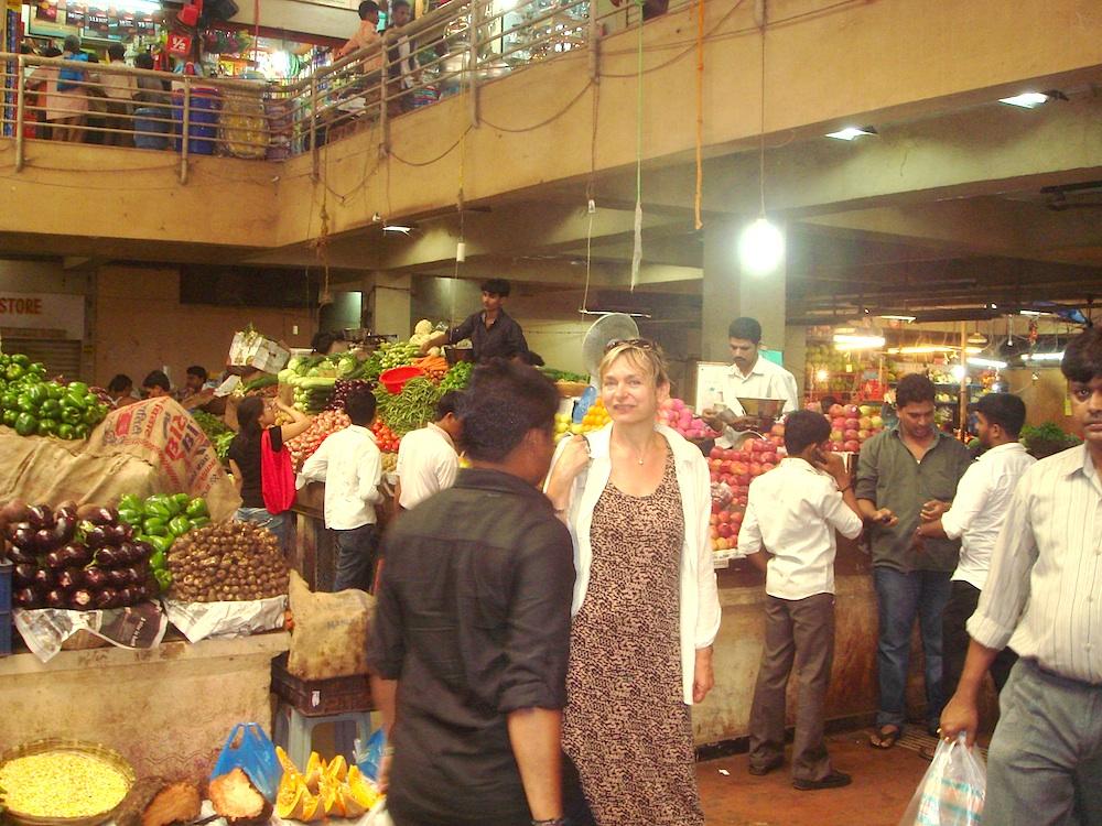 Bazar na Goa, polecam papaję i avocado:)