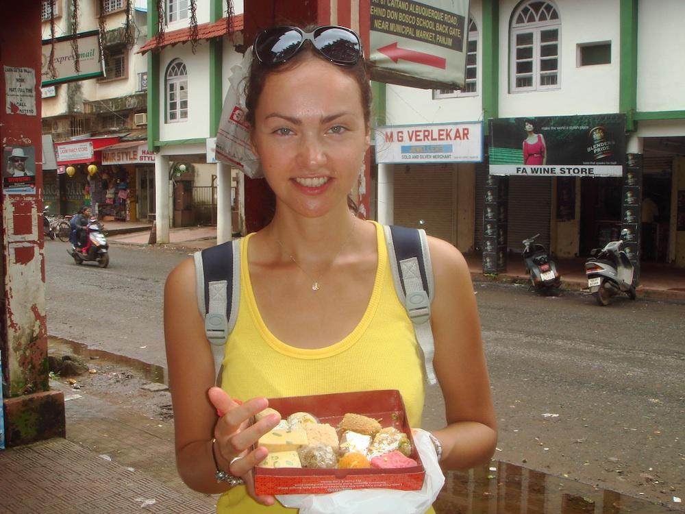 Hinduskie smakołyki czyli bardzo, bardzo, bardzo słodkie ciasteczka