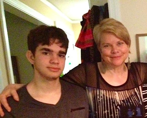 Alex z mamą