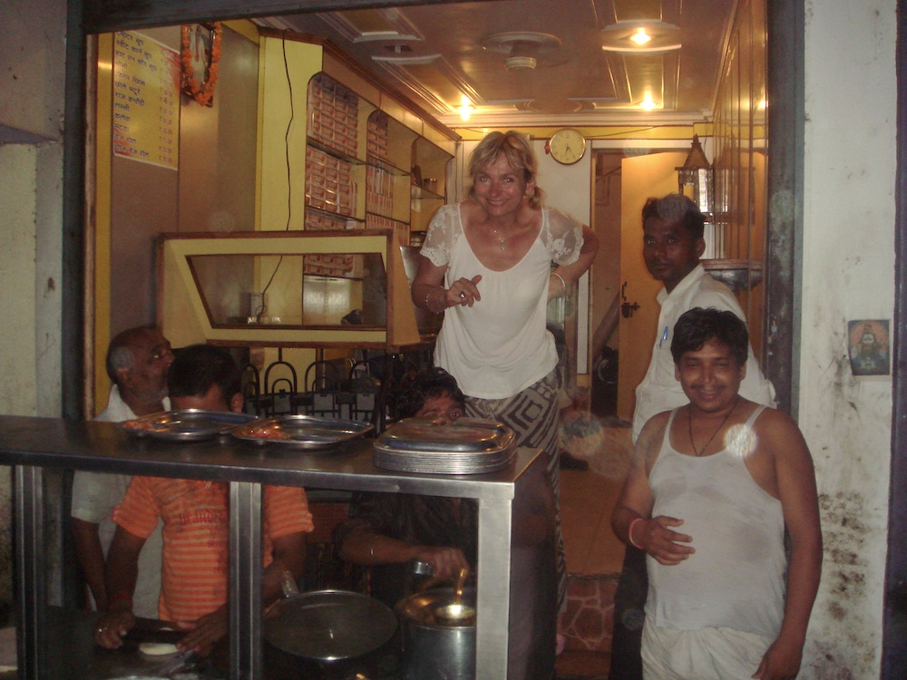 A na koniec dnia obowiązkowa pyszna kolacja prosto z indujskiego targu