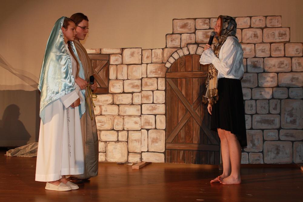 Maryja i Józef  szukają gospody