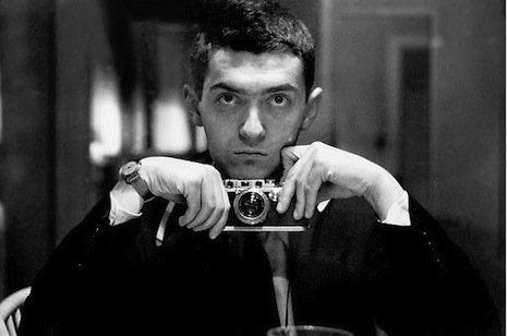 Selfie Kubricka z 1946 r w redakcji magazynu LOOK
