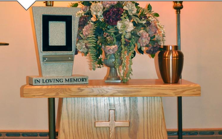 pogrzeb przy urnie