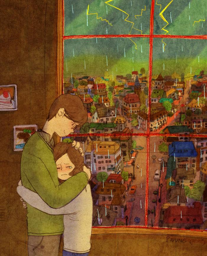 sweet-couple-love-illustrations-art-puuung-1__700