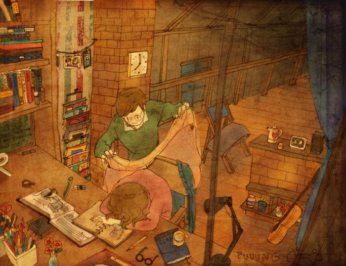 sweet-couple-love-illustrations-art-puuung-39__700