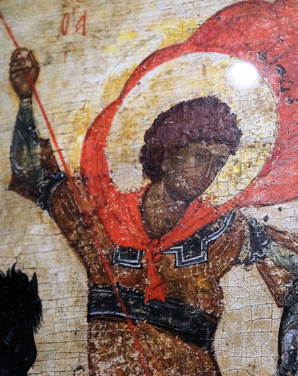 """""""Święty Jan Chrzciciel"""" (około 1300 r.)"""