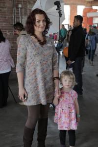 Martyna Florczak z córką