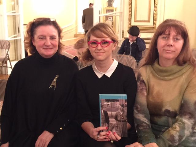 Od lewej: Irena Biały, Magdalena Kicińska, Danuta Świątek