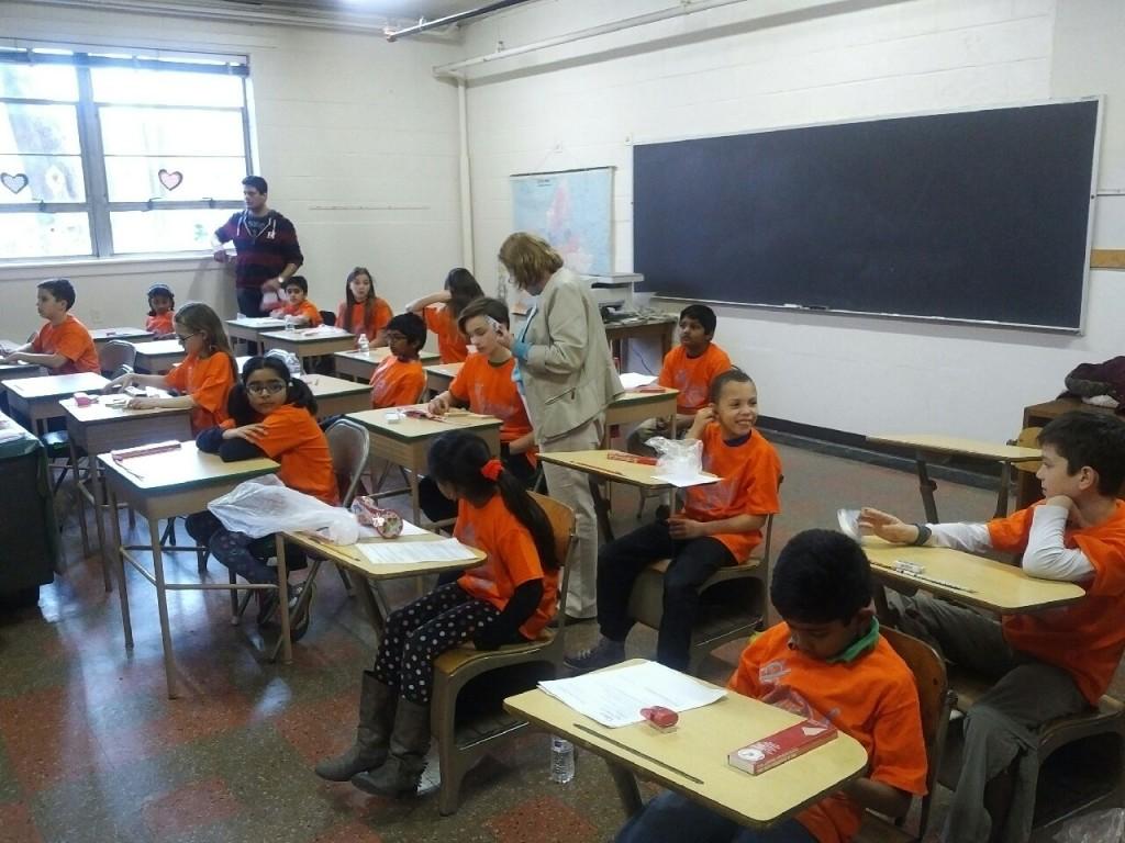 Kangur w Polskiej Szkole im. M. Kopernika w Mahwah NJ