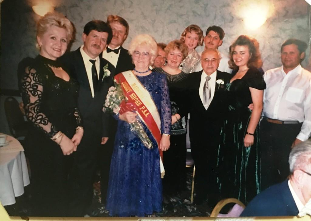Na Bankiecie Parady Pułaskiego w 1997 roku