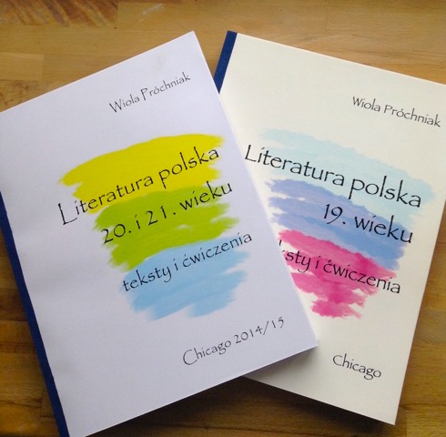 2016 Literatura polska covers