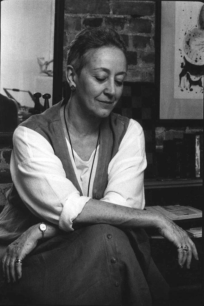 Eva Rubinstein 09.12.1992 Zdjęcie: Zosia Żeleska-Bobrowski