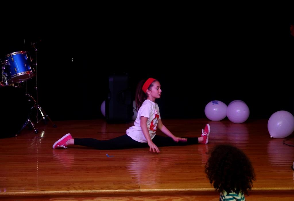 Hip Hop w wykonaniu tancerki z Salem