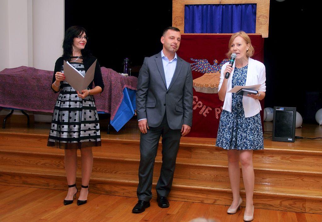Sylwia Kloczkowska, Rafal Borkiewicz i Lidia Russell