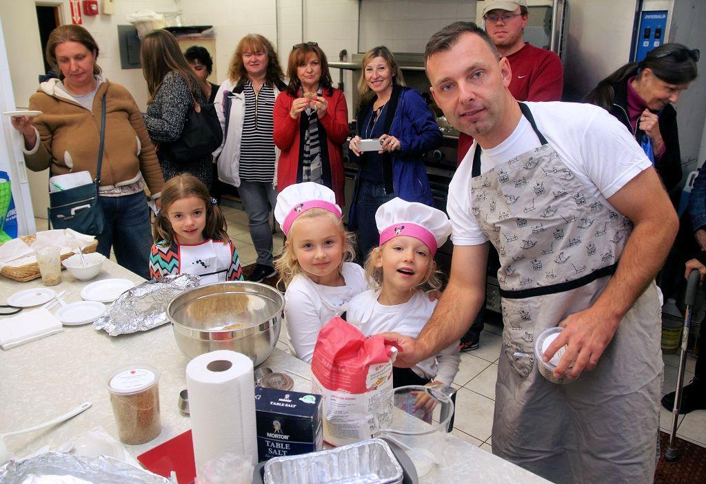 Warsztat pieczenia chleba, Rafal Borkiewicz i Alina Kozak