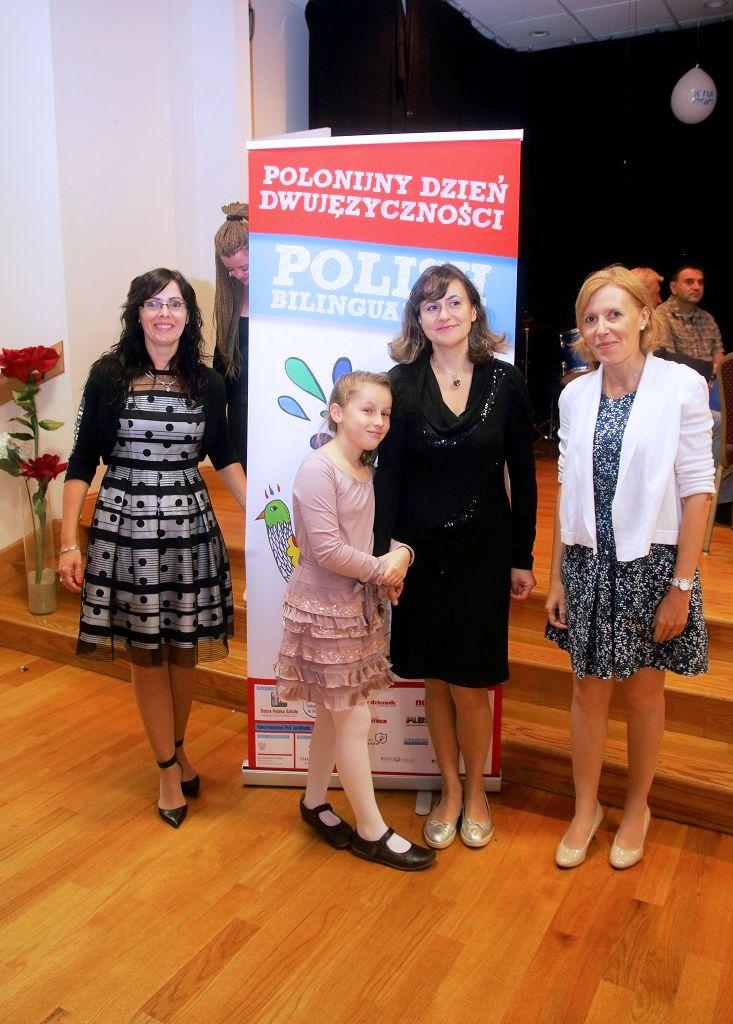 Z Basią i Amelką Łysakowskimi