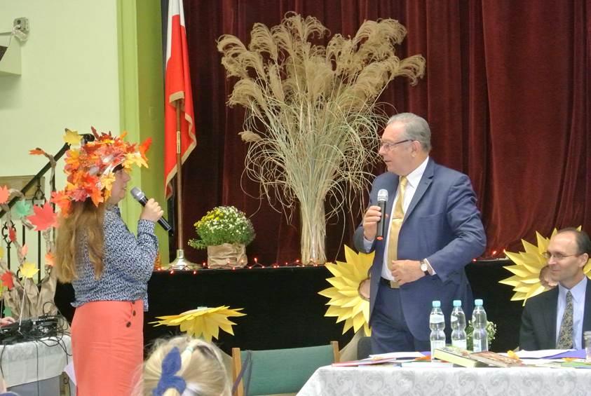 Danuta Świątek i Krzysztof Zanussi