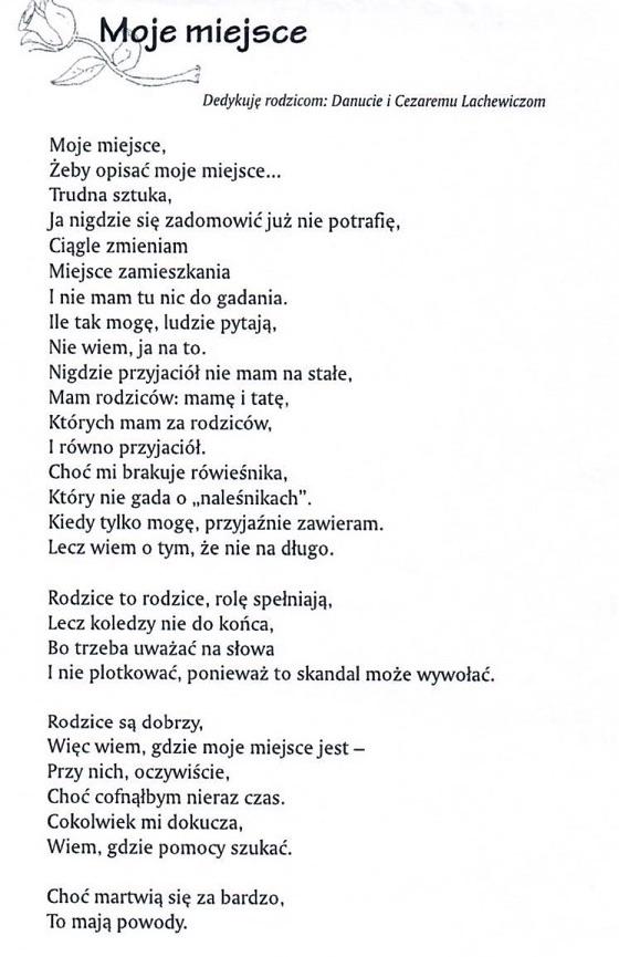 wiersze Maćka do klubu6