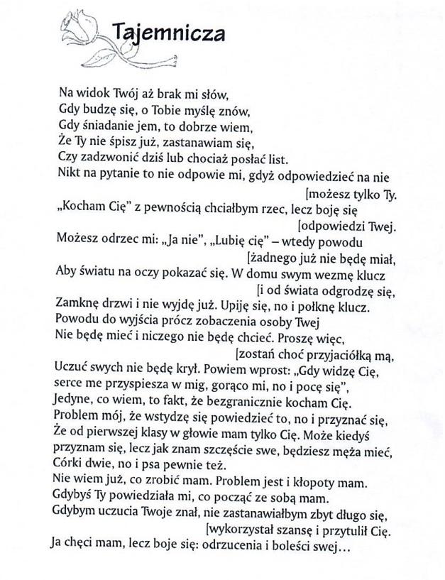 wiersze Maćka do klubu8