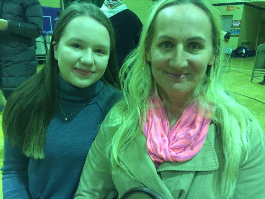 Paulina Michalska i mama Sabiną