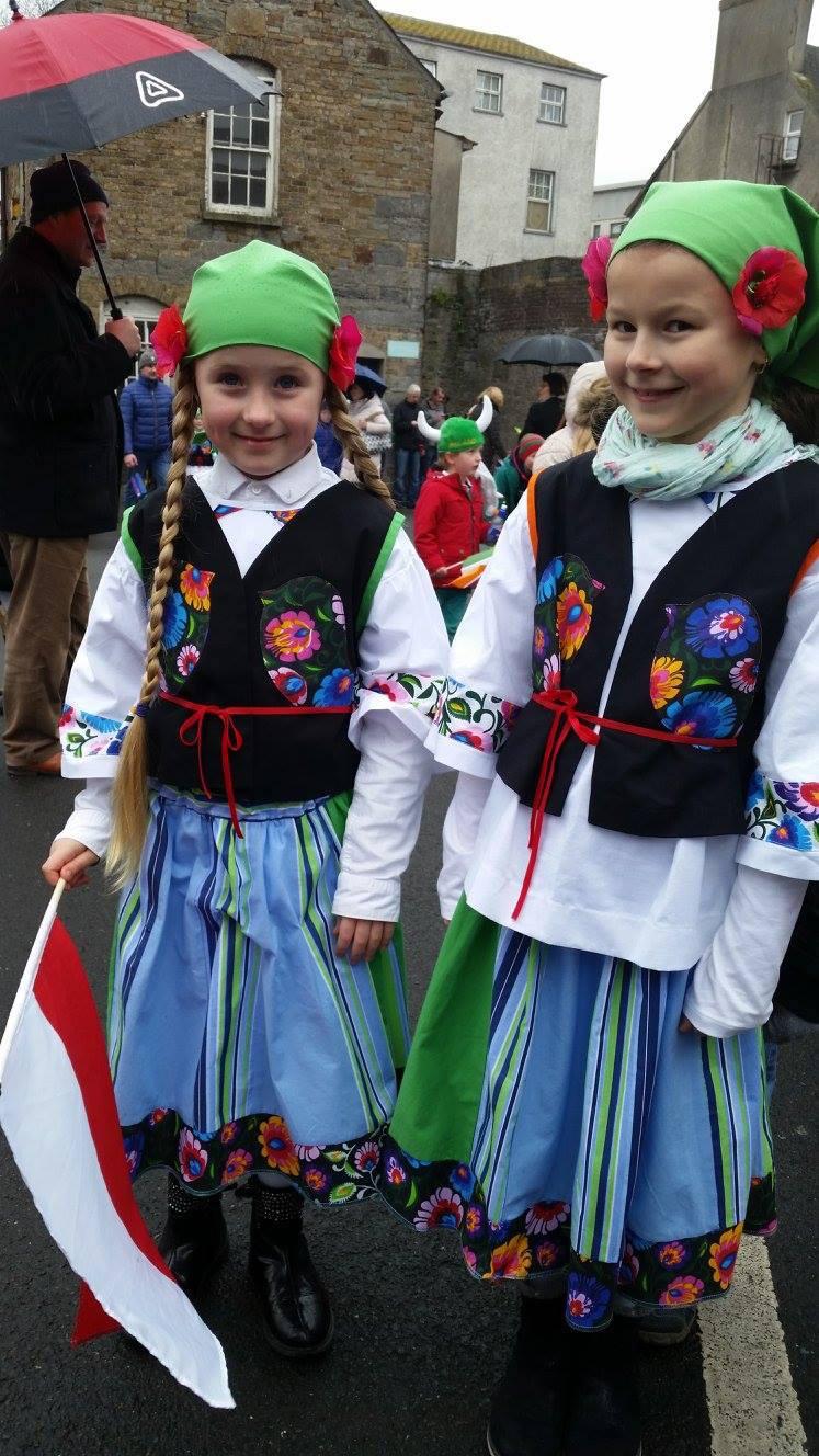 Polska Szkoła Równe Szanse w Carlow, Parada z okazji Dnia Świętego Patryka, 17.03.2017